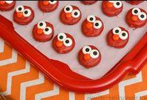 Elmo Birthday Party / by Mallery Schuplin