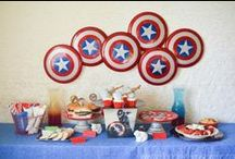 Superhero Party / Ideas to help you throw a fun superhero party for your child! Bonus ideas for Guardians of the Galaxy fans! / by Mallery Schuplin
