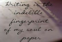 Writing Quotes for the Soul / For those moments when the words simply won't come. The times when you simply cannot fathom the thought of filling that blank page. Here are some quotes to inspire your written craft. Because in the end, we can't always tend to our muse. These pieces will help further your creativity.