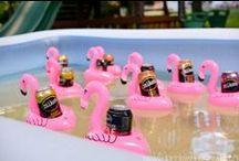 Pink Flamingo Party / by Mallery Schuplin