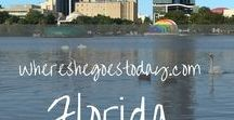 Florida / These are the resources that I love and find that showcase the best of Florida! Find things to do, other bloggers, and get inspired by its natural beauty!