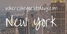 New York / These are the resources that I love and find that showcase the best of New York! Find things to do, other bloggers, and get inspired by its natural beauty!