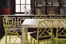 DINING FURNITURE  / Dining chairs dining tables  / by Parker Kennedy