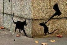 Street Art / Street art, graffiti, spray art / by Giovanni Scalabrin