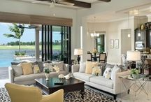 Living Room / Color schemes, furniture, accessories, and creative storage solutions / by Lynn Varian