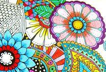 Doodling, Zentangles, Drawing / by Laura Douglass