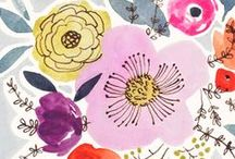 Flowers & Florals / Everything to do with flowers, florals, petals and natural flowery shapes. I love Spring and that gorgeous sensation of coming alive to the world and florals epitomise that for me every time!