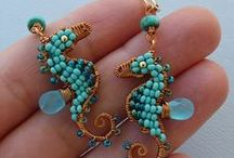Seahorse Art / by Beadwork by Diana