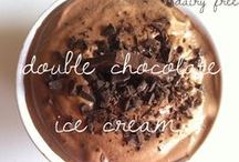 Ice Cream Dreams / Whole food ice cream without dairy, gluten or sugar.  / by Pamela Morris