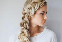 Hairstyles- Braided Hair Styles / Braided hairstyles, braid hairstyles for school, how to braid tutorials, french braid, pretty braids, cute and easy hairstyles, cute hairstyles for girls
