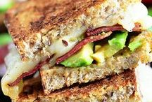 Lunch Recipes / easy lunch ideas, healthy lunch ideas, lunch sandwiches, kids lunch ideas, mason jar meals, burgers, sandwich ideas