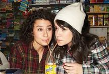 #YasQueen / pictures & quotes from Broad City starring Ilana Glazer & Abbi Jacobson
