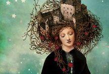 Rosaspina - Sleeping Beauty / Una raccolta di illustrazioni ispirate alla fiaba di Rosaspina per il mio progetto Le Favolose: http://www.cecilialattari.com/le-favolose/