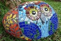 Mosaics garden
