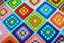 Granny Squares ,Stripes and more