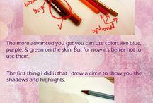 Coloured pencil tutorials