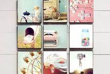 Mur de photos ...