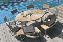 Zebra Outdoor Funiture / Leisure time at last! Time to enjoy and relax. Outdoor Lifestyle.