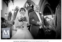 Church weddings / I am a Somerset based wedding photographer.  I am skilled at capturing beautiful moments at weddings and being discreet whilst doing so.  I am experienced and use the very latest professional camera equipment. www.momentphotography.co.uk
