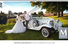 Wedding cars / I am a Somerset based wedding photographer.  I am skilled at capturing beautiful moments at weddings and being discreet whilst doing so.  I am experienced and use the very latest professional camera equipment. www.momentphotography.co.uk