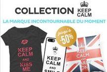 La Collection Keep Calm / Découvrez la collection Keep Calm sur notre site www.mydesign.com et craquez pour nos produits ... mais Keep Calm !