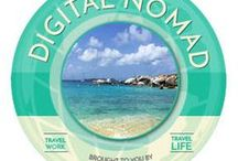 Digital Nomad / Enjoy life and work from anywhere. The life of a digital nomad.