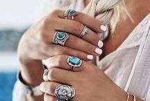 JEWELRY | CUFFS BRACELETS NECKLACES EARRINGS RINGS / Shop My Favorite Jewelry - Bohemian Inspired