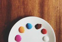 Colors / ❤️⚫️⚪️