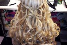 Bride's Hair and Updo's