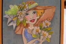 Cards--Loralie Ladies