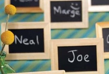 Unique Place Cards / Let your guests know where they are sitting with these unique place cards.