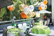 Grayson's Jungle Themed Birthday Party