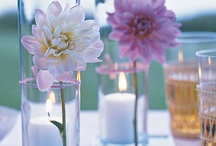 Unique Table Centerpieces / Table centerpieces can transform your wedding reception. Fresh flowers, candles, vintage pieces are just a few ideas for wedding reception decor.