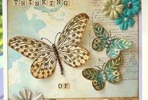Cards--Butterflies 1