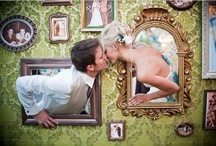 Photobooths, Backdrops and Wedding Photos / Photobooths are a great addition to the wedding fun. Find props, styles and backdrops.