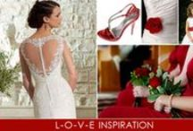 Valentine's Day Wedding Inspiration / Love is the inspiration for this pinterest board!