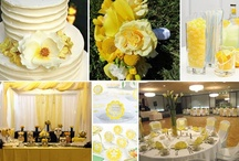 Lemon Zest / Yellow Wedding Inspiration / Lemon Zest was named Pantone's color of the year for spring 2013.