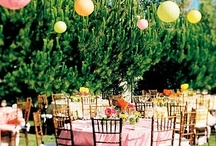 Spring Wedding Ideas & Inspiration / Bright and Colorful Spring Wedding Ideas & Inspiration- Pink, Orange, Yellow, Grass Green, Sky Blue, Lilac Purple, Lavender