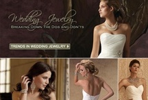 Bridal Jewelry / How will you accessorize your wedding gown? Necklace, earrings, bracelets? Small and elegant or bold and beautiful?  http://www.maweddingguide.com/bridalfashions/gown/wedding-jewelry.htm