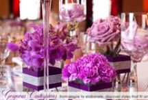 Wedding Flowers - Reception Decor / Flowers can transform your reception. Discover floral inspiration for centerpieces and decor.