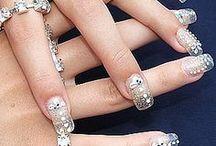 Bride's Prettty Nails