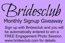 Pin It to Win It Contest-Sweepstakes / Contests and Giveaways from Bridesclub for our Brides! #pin it to win it #Sweepstakes #drawings #Bridesclub #The Wedding Spotlight