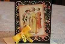 Cards--Graphic45--ALadiesDiary, Le Romantique
