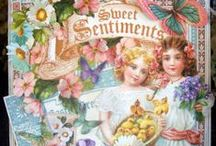 Cards--Graphic45--SweetSetiments/VintageValentine