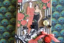 Cards--Graphic45--Couture/Fashionista