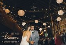 Wedding Style: Romance / You can't go wrong with the wedding style of romance. Ideas and inspiration to create a romantic MA wedding.
