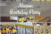 Grayson's Despicable Me Minions Themed Birthday Party