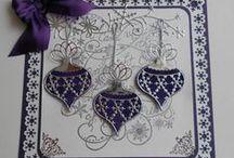 Cards--MB&SU--Ornaments, Trees, Eggs