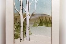 Cards--MB--Birch and Other Trees