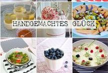 "My first cookbook ""Handgemachtes Glück"" / Have a look to my first cook book. With lots of receipes from every season including DIY tutorials. Enjoy!"